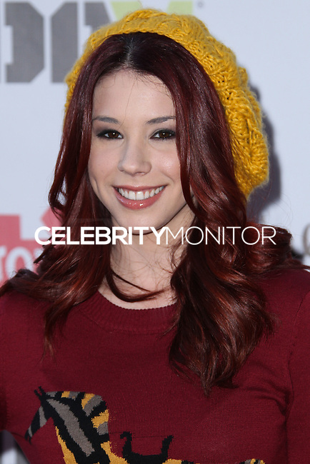 HOLLYWOOD, CA - DECEMBER 01: Jillian Rose Reed arriving at the 82nd Annual Hollywood Christmas Parade held at Hollywood Boulevard on December 1, 2013 in Hollywood, California. (Photo by Xavier Collin/Celebrity Monitor)