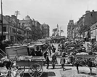 FILE PHOTO - Jacques-Cartier square circa 1900.
