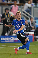 SAN JOSE, CA - AUGUST 17: Jackson Yueill #14 of the San Jose Earthquakes during a game between Minnesota United FC and San Jose Earthquakes at PayPal Park on August 17, 2021 in San Jose, California.