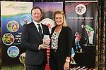 Golf Union Wales Awards 2014<br /> Jamie Donaldson & Amy Boulden<br /> 07.01.15<br /> ©Steve Pope -SPORTINGWALES