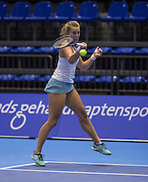 Rotterdam, Netherlands, December 13, 2016, Topsportcentrum, Lotto NK Tennis,   Nikki Luttikhuis (NED)<br /> Photo: Tennisimages/Henk Koster