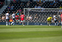 18th July 2021; Pride Park, Derby, East Midlands; Pre Season Friendly Football, Derby County versus Manchester United;  Facundo Pellistri of Manchester United scores his first goal for United to make the score 2-0 in the 59th minute