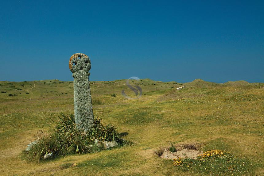 St Piran's Cross, Penhale Sands, Perranporth, Cornwall