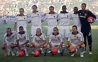 LA Galaxy starting eleven against Colorado Rapids. LA Galaxy defeated the Colorado Rapids 3-2 at Home Depot Center stadium in Carson, California on Sunday October 12, 2008. Photo by Michael Janosz/isiphotos.com