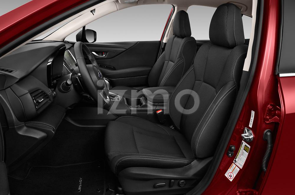 Front seat view of 2020 Subaru Legacy Premium 4 Door Sedan Front Seat  car photos