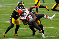 during a regular season game between the Pittsburgh Steelers and the Cleveland Browns, Sunday, Oct. 18, 2020 in Pittsburgh, PA. (\192119000006#1\ / Pittsburgh Steelers)