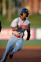 Florida Fire Frogs Kevin Josephina (20) running the bases during a Florida State League game against the St. Lucie Mets on April 12, 2019 at First Data Field in St. Lucie, Florida.  Florida defeated St. Lucie 10-7.  (Mike Janes/Four Seam Images)