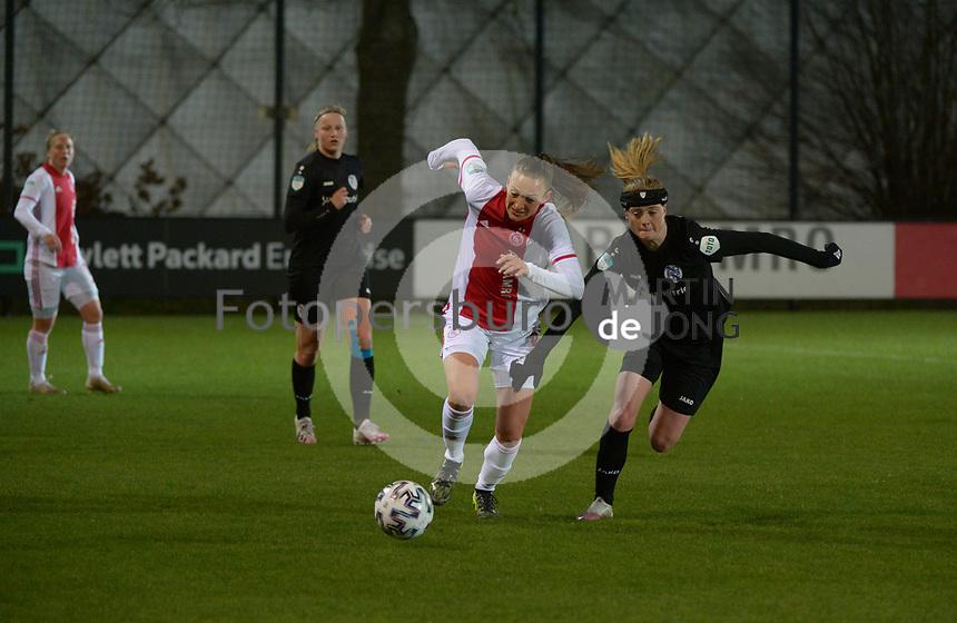 VOETBAL: AMSTERDAM: 05-03-2021, De Toekomst, Eredivisie Vrouwen, AJAX - sc Heerenveen, uitslag 1-1, ©foto Martin de Jong