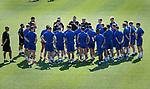18.06.18  Steven Gerrard has a team talk