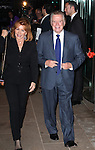 Regis Philbin & Joy Philbin attending the Memorial To Honor Marvin Hamlisch at the Peter Jay Sharp Theater in New York City on 9/18/2012.
