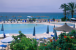 Pafos, Paphos, Coral Beach Hotel, Cyprus. Zypern.