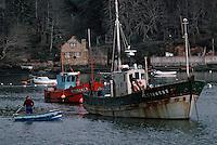 Europe/France/Bretagne/29/Finistère/Belon: Le port