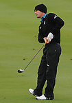 4 October 2008: Charles Howell III gives an approach shot a little body english lean during the third round at the Turning Stone Golf Championship in Verona, New York.