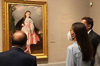 SEP 13 Queen Letizia Attends Exhibition Opening