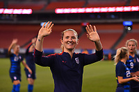 Cleveland, Ohio - Tuesday June 12, 2018: Samantha Mewis during an international friendly match between the women's national teams of the United States (USA) and China PR (CHN) at FirstEnergy Stadium.
