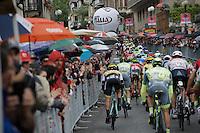 peloton in the final, local, rainy laps around Torino<br /> <br /> stage 21: Cuneo - Torino 163km<br /> 99th Giro d'Italia 2016