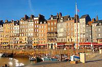 photo of Harbour side restauarant - La Bisquine . Honfleur, Normandy, France.
