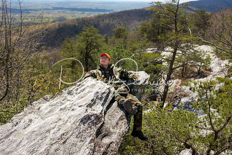 Photography of the Civil Air Patrol(CAP) MER NC 111 Search and Rescue Squadron,training April 9, 2016 at Hanging Rock State Park.<br /> <br /> Charlotte Photographer - PatrickSchneiderPhoto.com