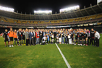 DC United organization with MLS Committee posing for a photo at the las game for Jaime Moreno .  Toronto FC. defeated DC United 3-2 at RFK Stadium, October 23, 2010.