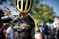 at the finish line in Nîmes<br /> <br /> Stage 16: Nîmes to Nîmes(177km)<br /> 106th Tour de France 2019 (2.UWT)<br /> <br /> ©kramon