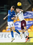 St Johnstone v Hearts…30.10.19   McDiarmid Park   SPFL<br />Jason Kerr and Steven MacLean<br />Picture by Graeme Hart.<br />Copyright Perthshire Picture Agency<br />Tel: 01738 623350  Mobile: 07990 594431