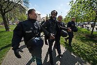 2014/04/09 Berlin | Oranienplatz | Protest nach Abbau Flüchtlingscamp
