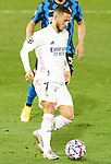 Real Madrid's Eden Hazard during UEFA Champions League match. November 3,2020.(ALTERPHOTOS/Acero)
