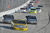 NASCAR Camping World Truck Series<br /> Bar Harbor 200<br /> Dover International Speedway, Dover, DE USA<br /> Friday 2 June 2017<br /> Cody Coughlin, JEGS Toyota Tundra, Noah Gragson, Switch Toyota Tundra, Harrison Burton, DEX Imaging Toyota Tundra<br /> World Copyright: Logan Whitton<br /> LAT Images<br /> ref: Digital Image 17DOV1LW2348