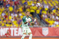 Tampa, FL - Thursday, October 11, 2018: David Ospina during a USMNT match against Colombia.  Colombia defeated the USMNT 4-2.
