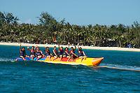 Banana Boat ride BORACAY ISLAND PHILIPPINES