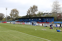 General view of the ground during Redbridge vs Clapton, Len Cordell Memorial Cup Football at Oakside Stadium on 10th April 2021