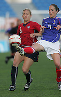 MAR 13, 2006: Faro, Portugal:  Amy Rodriguez, Sabrina Viguier