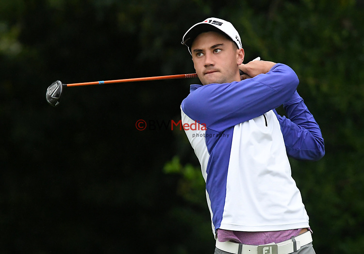 Reid Hilton during the New Zealand Stroke Play Championship Golf Tournament at Hastings Golf Club, Hastings, New Zealand, Thursday 23 March 2017.  Photo: Kerry Marshall/www.bwmedia.co.nz