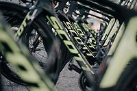 Team Orica-Scott bikes ready at the start<br /> <br /> 104th Tour de France 2017<br /> Stage 4 - Mondorf-les-Bains › Vittel (203km)