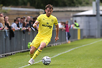 Lachlan Brook of Brentford B in action during Dulwich Hamlet vs Brentford B, Friendly Match Football at Champion Hill Stadium on 31st July 2021
