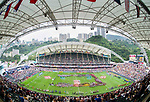 March past on Day 2 of the Cathay Pacific / HSBC Hong Kong Sevens 2013 on 23 March 2013 at Hong Kong Stadium, Hong Kong. Photo by Victor Fraile / The Power of Sport Images