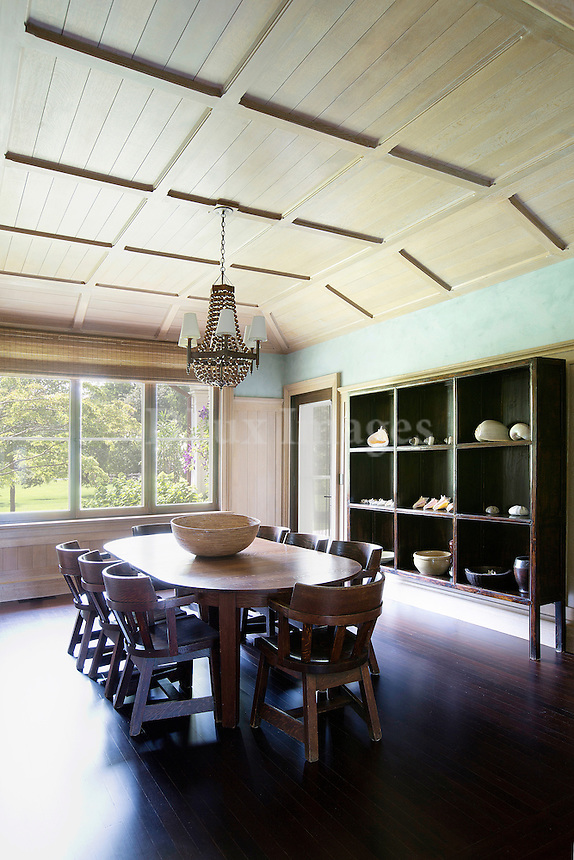 Country style dining area