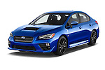 2015 Subaru Wrx - 4 Door Sedan 2WD Angular Front stock photos of front three quarter view