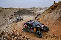 7th January 2021; Riyadh to Buraydah, Saudi Arabia; Dakar Rally, stage 5;  #408 Jones Austin (usa), Gugelmin Gustavo (bra), Can-Am, Monster Energy Can-Am, Motul, SSV Series - T4, action during the 5th stage of the Dakar 2021 between Riyadh and Al Qaisumah, in Saudi Arabia on January 7, 2021