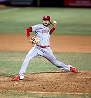 Jayvien Sandridge - 2021 Arizona League Reds (Bill Mitchell)