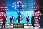 Filippo Ganna (ITA) Ineos Grenadiers wins Stage 5 and takes over the mountains Maglia Azzurra of the 103rd edition of the Giro d'Italia 2020 running 225km from Mileto to Camigliatello Silano, Sicily, Italy. 7th October 2020.  <br /> Picture: LaPresse/Gian Mattia D'Alberto | Cyclefile<br /> <br /> All photos usage must carry mandatory copyright credit (© Cyclefile | LaPresse/Gian Mattia D'Alberto)