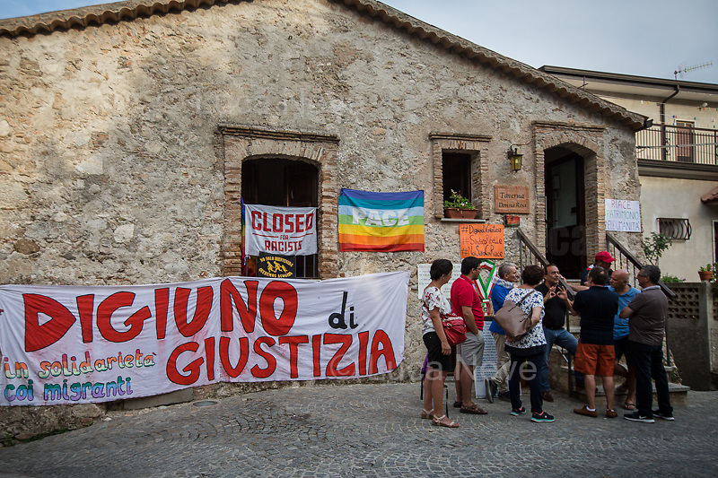 Hunger Strike for Justice.<br />