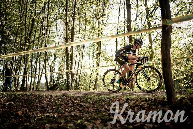 Lars van der Haar (NED/Telenet Baloise Lions)<br /> <br /> Elite & U23 Mens Race<br /> 42nd Superprestige cyclocross Gavere 2019<br /> <br /> ©kramon