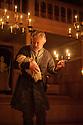 London, UK. 03.02.2016. Shakespeare's Globe presents THE WINTER'S TALE, by William Shakespeare, in the Sam Wanamaker Playhouse. Picture shows: David Yelland (Antigonus). Photograph © Jane Hobson.