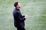 Atletico de Madrid's coach Diego Pablo Cholo Simeone during La Liga match. March 19,2017. (ALTERPHOTOS/Acero)