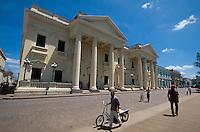 Cuba, Palacio Provincial am Parque Vidal in Santa Clara, Provinz Villa Clara