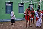Encenaçao da Paixao de Cristo na Semana Santa. Rosario Oeste. Mato Grosso. 2014. Foto de Antonio Siqueira.