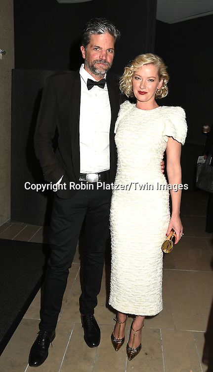 """Gretchen Mol and husband Kip Williams attend the """"Manchester by the Sea"""" Screening at the New York Film Festival on October 1, 2016 at Alice Tylly Hall in Lincoln Center in New York, New York, USA.<br /> <br /> photo by Robin Platzer/Twin Images<br />  <br /> phone number 212-935-0770"""