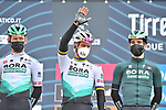 Peter Sagan (SVK) Bora-Hansgrohe at sign on before the start of Stage 3 of Tirreno-Adriatico Eolo 2021, running 219km from Monticiano to Gualdo Tadino, Italy. 12th March 2021. <br /> Photo: LaPresse/Gian Mattia D'Alberto | Cyclefile<br /> <br /> All photos usage must carry mandatory copyright credit (© Cyclefile | LaPresse/Gian Mattia D'Alberto)