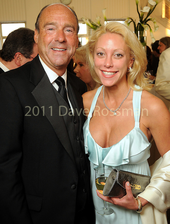 Judge Eric Andell and Kellie Mery at the Alley Ball held at the Air Terminial Museum at Hobby Airport Saturday May 15,2010.  (Dave Rossman Photo)